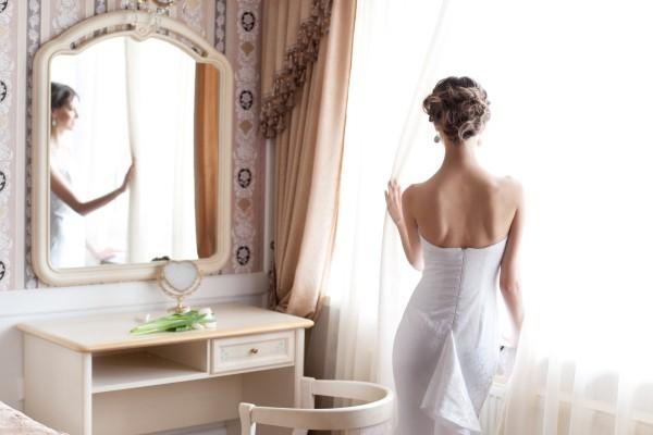 Typisch deutsches Brautkleid