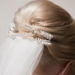 Brautfrisuren für mittellanges Haar
