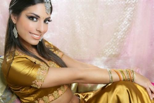 Brautkleid für eine arabische Hochzeit