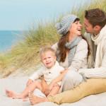 Romantische Flitterwochen mit Kind