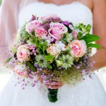 Farbenfroh: Brautstrauß-Trends im Sommer 2014