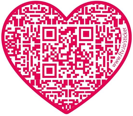 Hochzeitseinladung Mit QR Code, Bildquelle: Fotovio.de