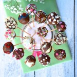 Cake Pops mit Schokolade und Streuseln