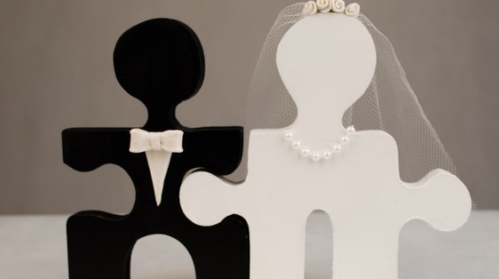 Nadine U0026 Christian: Puzzle Als Motto Für Die Hochzeitsfeier   Hochzeit.com