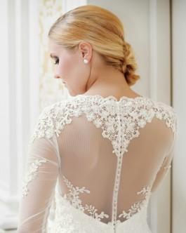 Kleiderfreuden maßgeschneiderte Brautmode