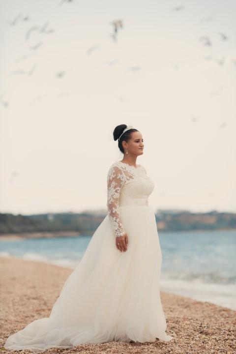 Brautmode in Übergrößen: Der Figur schmeicheln