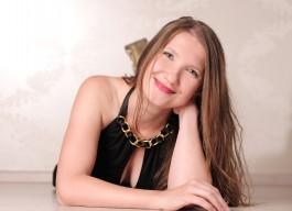 Sängerin und Rednerin Jana Hoffmann