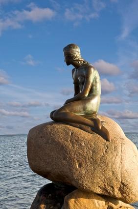 Meerjungfrau in Kopenhagen