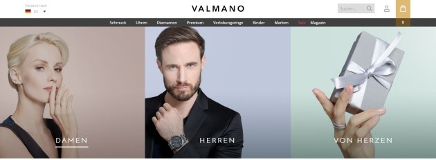 Valmano Onlineshop