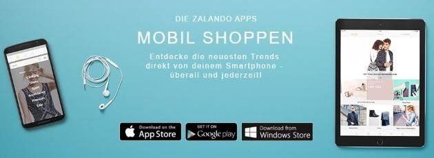 Zalando Mobiles Shopping