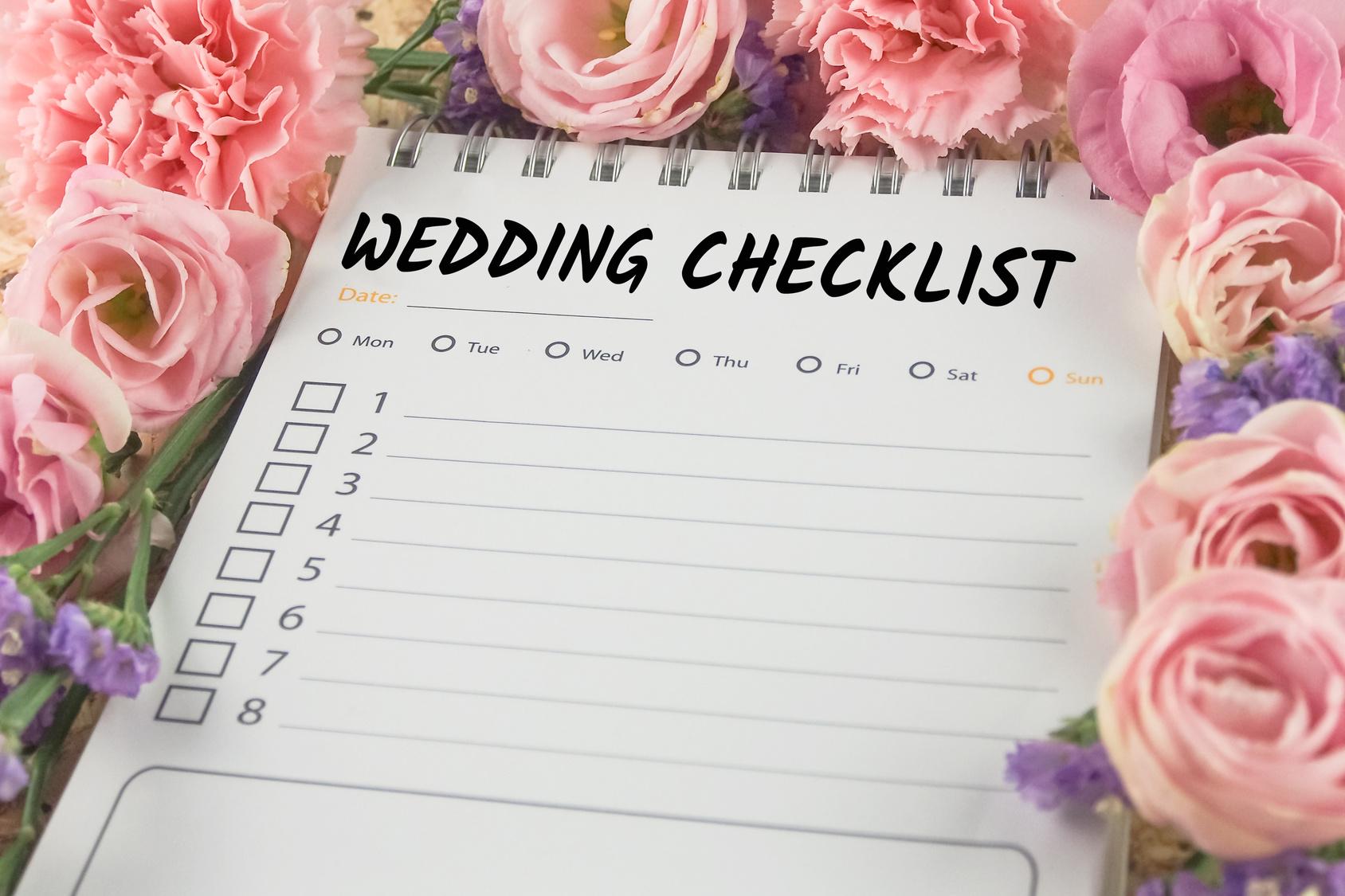 Nach der Hochzeit  To-do Liste für die Zeit nach der Hochzeit