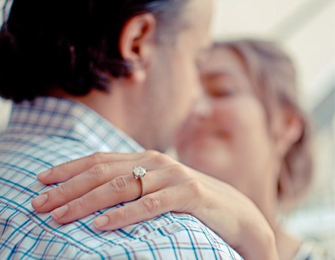 Verlobungsring frau schlicht