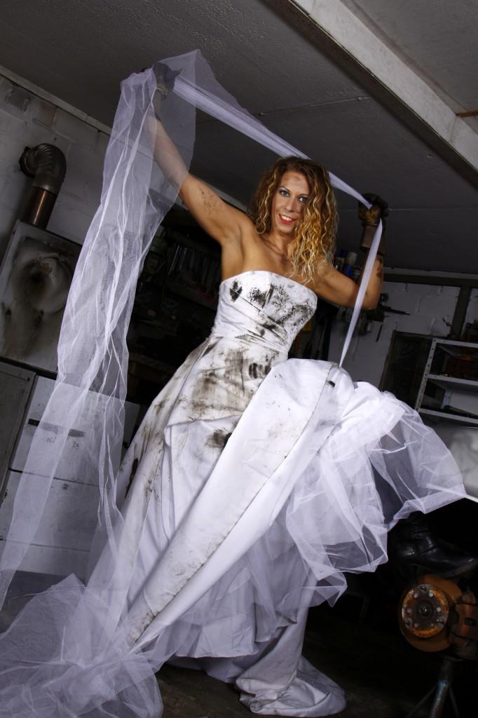 Trash the Dress Shootin Braut