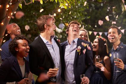 Schwule Hochzeit - Heiraten ist nun auch für Homosexuelle möglich