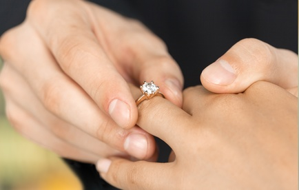 Ring tragen nach Brauch und Tradition der Länder