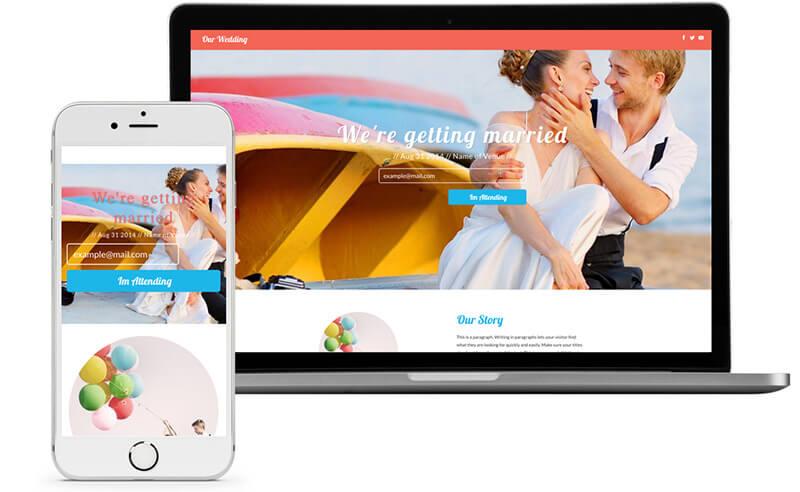 beispiele fr hochzeitswebseite - Hochzeitshomepage Beispiele
